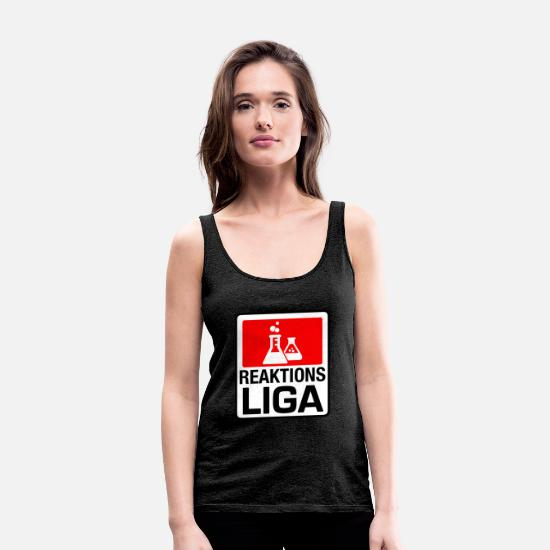 Kemi Tanktops - reaktion League - Premium tanktop dame charcoal