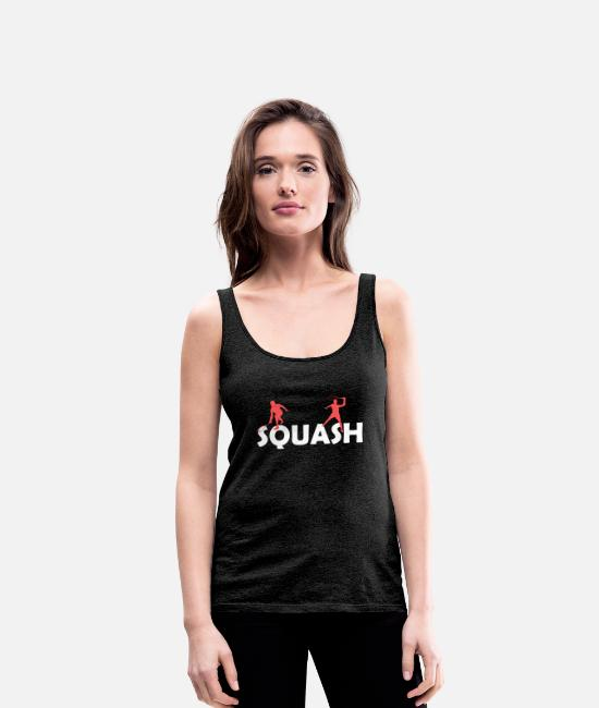 Birthday Present Tank Tops - squash - Women's Premium Tank Top charcoal grey