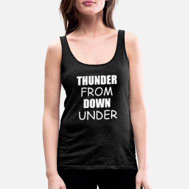 Armor thunder from down under - Women's Premium Tank Top