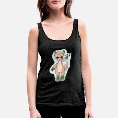 kawaii Animal - Frauen Premium Tanktop