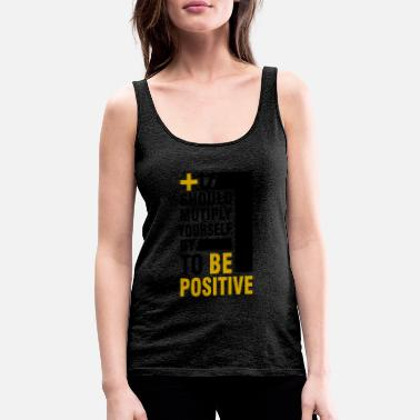 Optimism Optimism is learnable - in one step - Women's Premium Tank Top