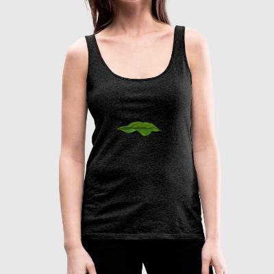 Dead leaf with drops - Women's Premium Tank Top