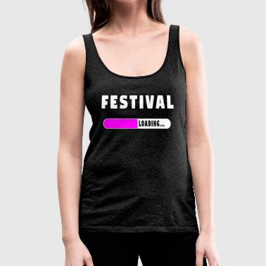 Festival Laden Shirt - Vrouwen Premium tank top