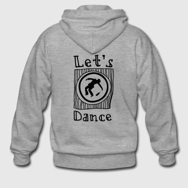 Let's Dance - Men's Premium Hooded Jacket