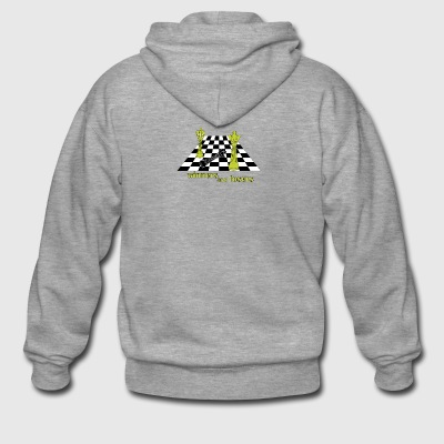 Chess game - Men's Premium Hooded Jacket