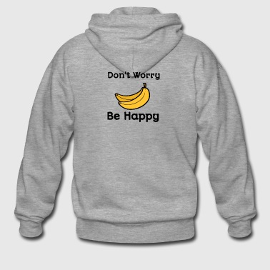 Dont worry be happy - Men's Premium Hooded Jacket