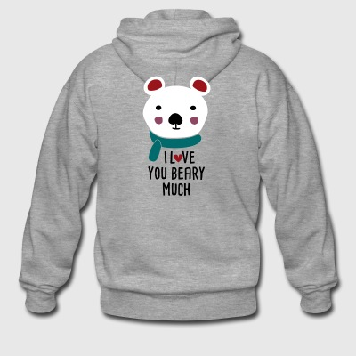 Beary Much - Men's Premium Hooded Jacket