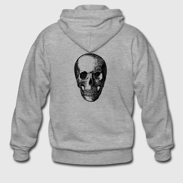 skull - Men's Premium Hooded Jacket