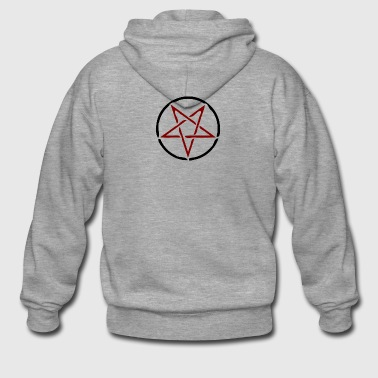 pentagram - Men's Premium Hooded Jacket