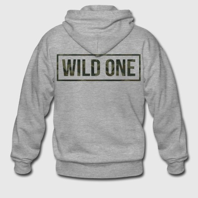 Wild One - Men's Premium Hooded Jacket