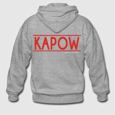KAPOW - Men's Premium Hooded Jacket