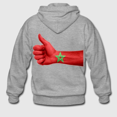 MOROCCO / MOROCCO / ISLAM / MUSLIM - Men's Premium Hooded Jacket