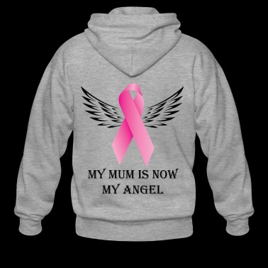 My Mum is now My Angel - Men's Premium Hooded Jacket