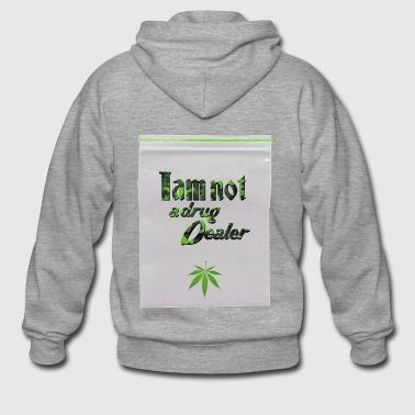 Iam not a drug dealer - Cannabis - Weed - Men's Premium Hooded Jacket