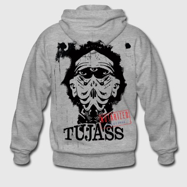 Tujass Egyptian Alien - Men's Premium Hooded Jacket