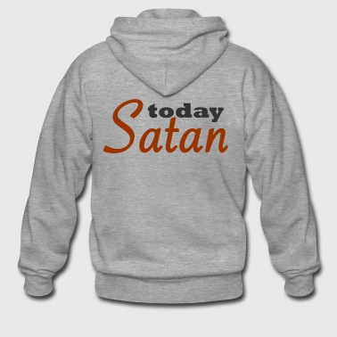 Today Satan - Men's Premium Hooded Jacket