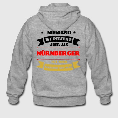 Perfect Nuremberg - Nuremberg Germany Franke - Men's Premium Hooded Jacket