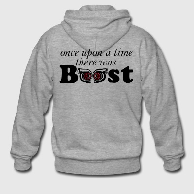 once upon a time boost - Men's Premium Hooded Jacket