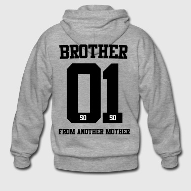 BROTHER FROM ANOTHER MOTHER 01 - Männer Premium Kapuzenjacke