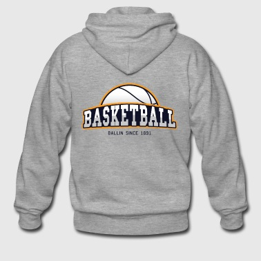 BASKETBALL - BALLIN SINCE 1891! - Gift - Men's Premium Hooded Jacket