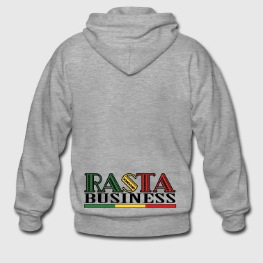Rasta Business - Men's Premium Hooded Jacket