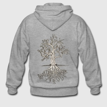 Bony tree - Men's Premium Hooded Jacket