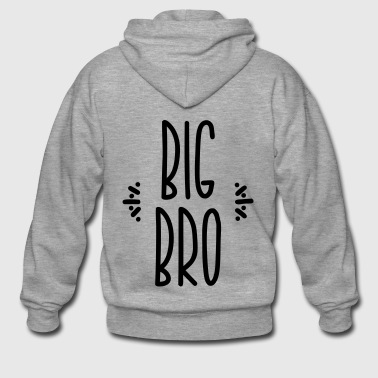 big bro - Men's Premium Hooded Jacket
