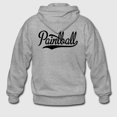 2541614 15440067 paintball - Men's Premium Hooded Jacket
