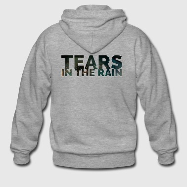 Tears in the rain - Men's Premium Hooded Jacket