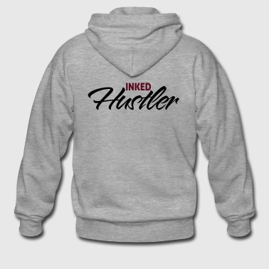 Inked hustler - Men's Premium Hooded Jacket