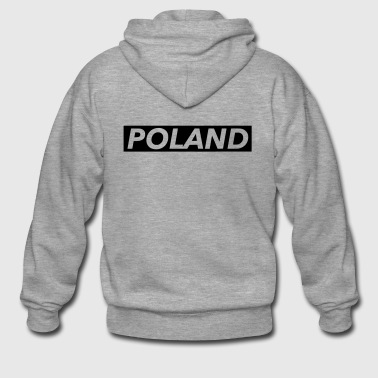 poland - Men's Premium Hooded Jacket
