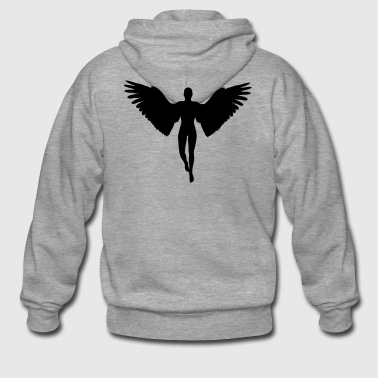 Angel - Men's Premium Hooded Jacket
