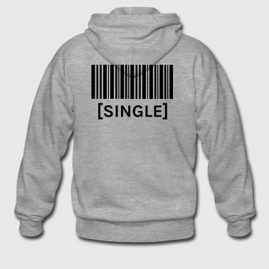 Barcode SINGLE - Men's Premium Hooded Jacket