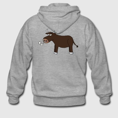 Bull bulls bulls bulls farm - Men's Premium Hooded Jacket