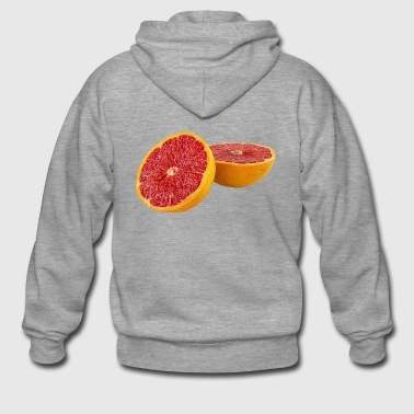 blood orange - Men's Premium Hooded Jacket