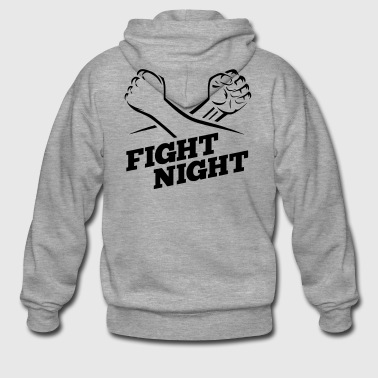 Fight Night Kickboxing Boxing - Men's Premium Hooded Jacket