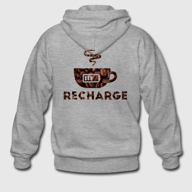 Recharge - Men's Premium Hooded Jacket