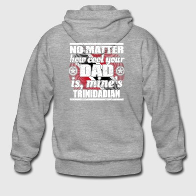 no matter cool dad father poison Trinidad Tobago png - Men's Premium Hooded Jacket