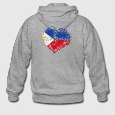 HOME ROOTS COUNTRY GIFT LOVE Philippines - Männer Premium Kapuzenjacke