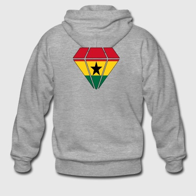 Gift diamond home roots Ghana - Men's Premium Hooded Jacket