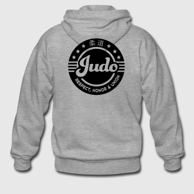 judo - Men's Premium Hooded Jacket