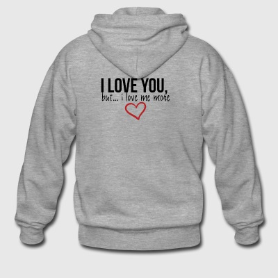 I love you - Männer Premium Kapuzenjacke