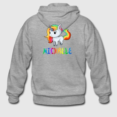 Unicorn Michaele - Men's Premium Hooded Jacket