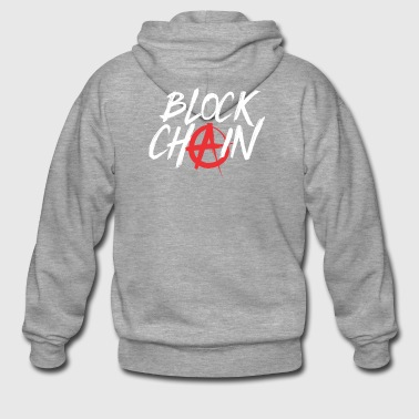ALTCOIN CRYPTO COIN: BLOCK CHAIN - Men's Premium Hooded Jacket