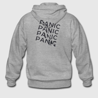 panic - Men's Premium Hooded Jacket