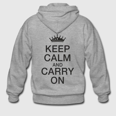 Keep calm - Men's Premium Hooded Jacket