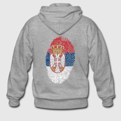 SERBIA 4 EVER COLLECTION - Männer Premium Kapuzenjacke