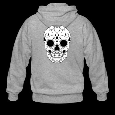 black-calavera - Men's Premium Hooded Jacket