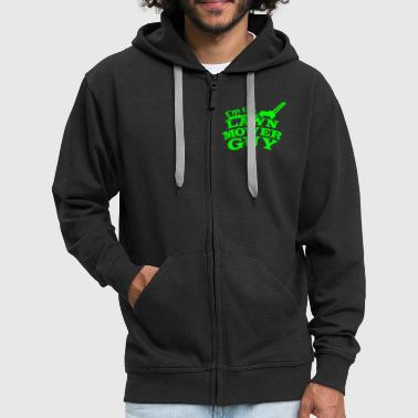 I'm the Lawn mower guy - Men's Premium Hooded Jacket