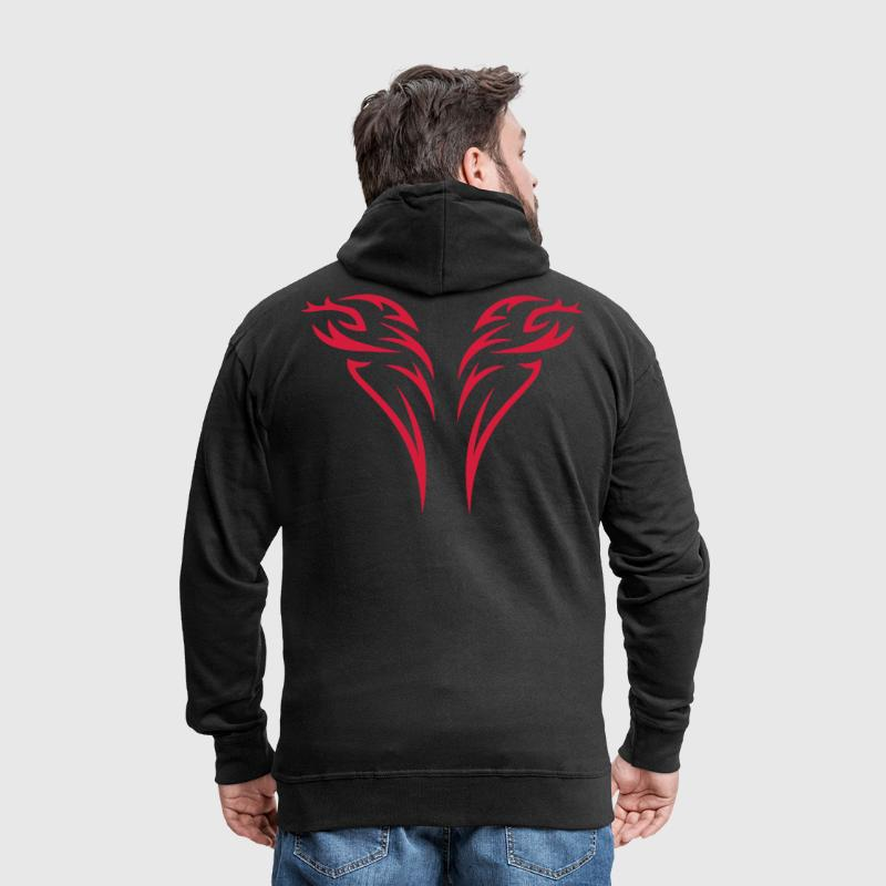 tattoo 2 - Men's Premium Hooded Jacket